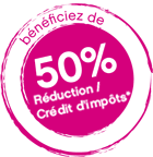 50 pourcent reduction impots ge