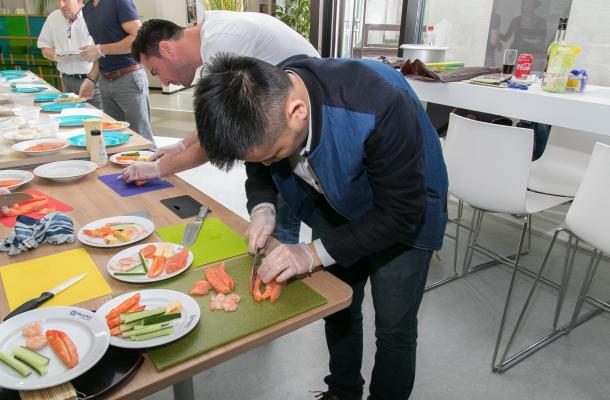 Team event sushi 2672 8