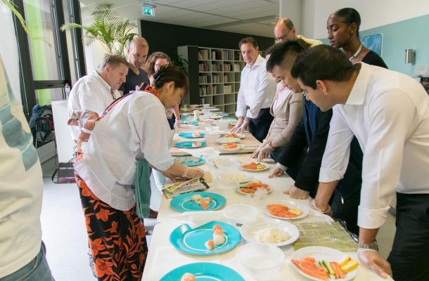 Team event sushi 2708 13